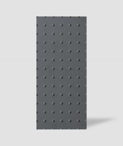 VT - PB55 (B8 antracyt) KROPKI - Panel dekor 3D beton architektoniczny