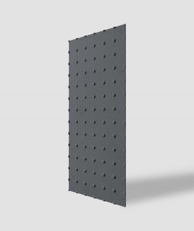 VT - PB55 (B8 anthracite) DOTS - 3D decorative panel architectural concrete