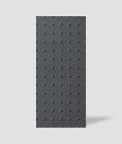 VT - PB55 (B15 czarny) KROPKI - Panel dekor 3D beton architektoniczny