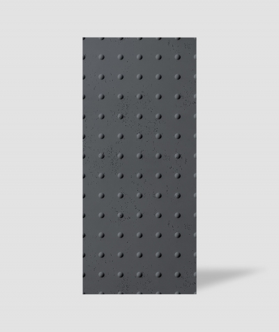 VT - PB55 (B15 black) DOTS - 3D decorative panel architectural concrete