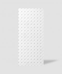 VT - PB54 (BS śnieżno biały) BLACHA - Panel dekor 3D beton architektoniczny