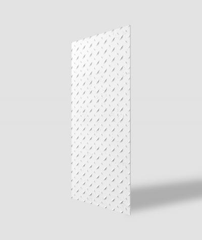 VT - PB54 (BS snow white) PLATE - 3D decorative panel architectural concrete