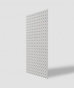 VT - PB53 (B1 siwo biały) BLACHA - Panel dekor 3D beton architektoniczny