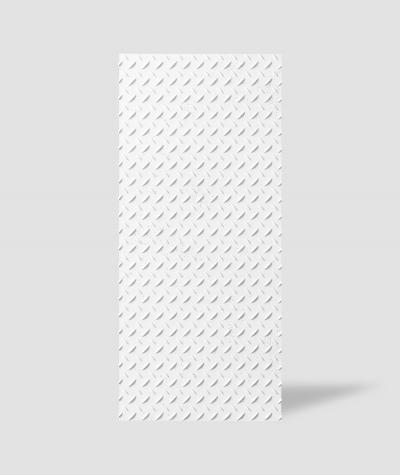 VT - PB53 (BS śnieżno biały) BLACHA - Panel dekor 3D beton architektoniczny
