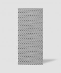 VT - PB53 (S51 dark gray - mouse) PLATE - 3D decorative panel architectural concrete