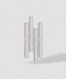 VT - PB52 (B0 biały) CEGIEŁKA - Panel dekor 3D beton architektoniczny