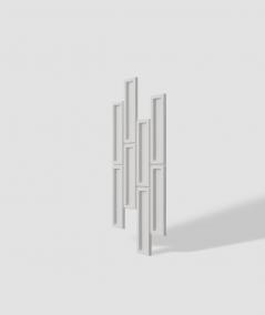 VT - PB52 (B1 siwo biały) CEGIEŁKA - Panel dekor 3D beton architektoniczny