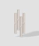 VT - PB52 (KS kość słoniowa) CEGIEŁKA - Panel dekor 3D beton architektoniczny
