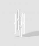 VT - PB52 (BS śnieżno biały) CEGIEŁKA - Panel dekor 3D beton architektoniczny