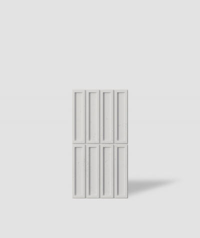 VT - PB51 (B0 white) RECTANGLES - 3D decorative panel architectural concrete