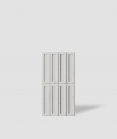 VT - PB51 (B1 siwo biały) CEGIEŁKA - Panel dekor 3D beton architektoniczny