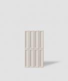 VT - PB51 (KS kość słoniowa) CEGIEŁKA - Panel dekor 3D beton architektoniczny