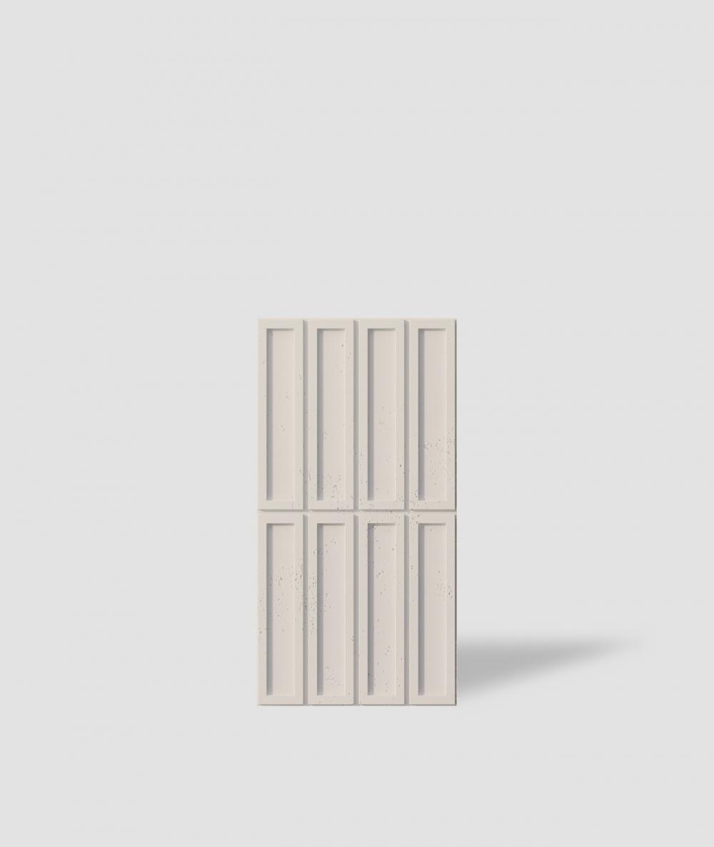 VT - PB51 (KS ivory) RECTANGLES - 3D decorative panel architectural concrete