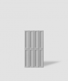 VT - PB51 (S95 light gray - dove) RECTANGLES - 3D decorative panel architectural concrete