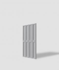 VT - PB51 (S96 ciemny szary) CEGIEŁKA - Panel dekor 3D beton architektoniczny