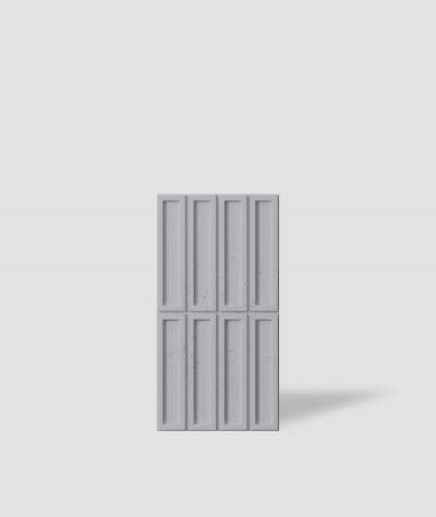 VT - PB51 (S96 dark gray) RECTANGLES - 3D decorative panel architectural concrete
