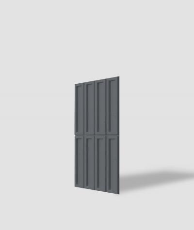 VT - PB51 (B8 antracyt) CEGIEŁKA - Panel dekor 3D beton architektoniczny