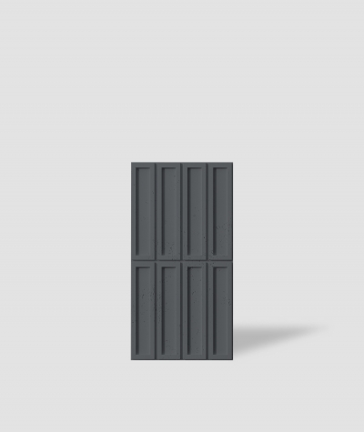 VT - PB51 (B15 black) RECTANGLES - 3D decorative panel architectural concrete