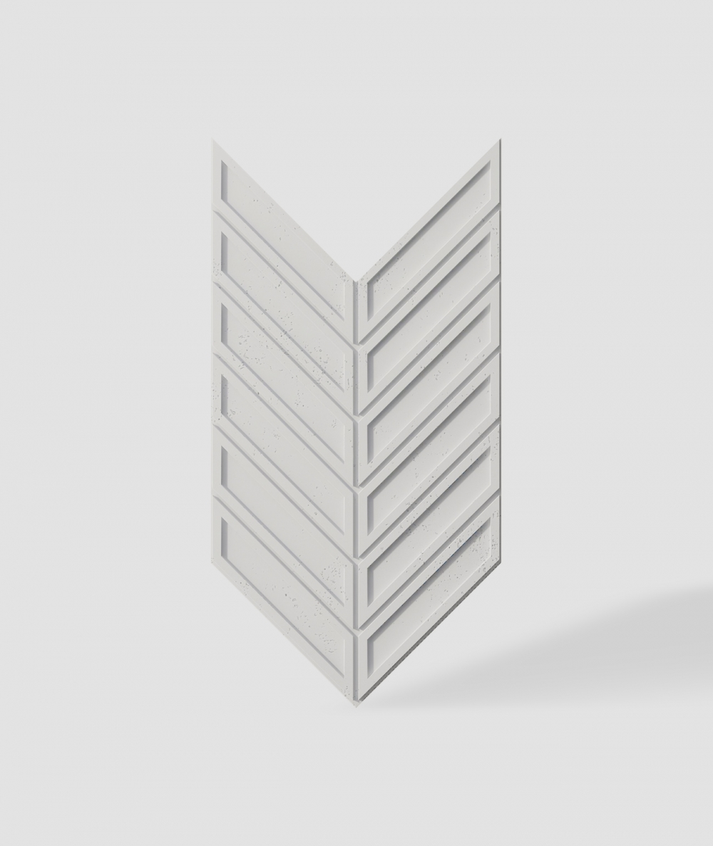 VT - PB50 (B0 biały) JODEŁKA - Panel dekor 3D beton architektoniczny