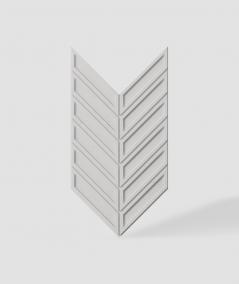 VT - PB50 (B1 siwo biały) JODEŁKA - Panel dekor 3D beton architektoniczny
