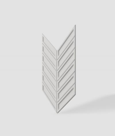 VT - PB50 (B0 white) HERRINGBONE - 3D decorative panel architectural concrete