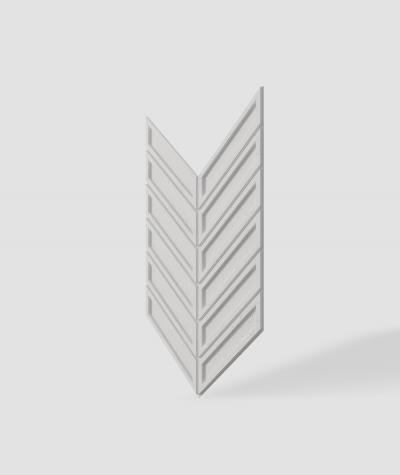 VT - PB50 (B1 gray white) HERRINGBONE - 3D decorative panel architectural concrete