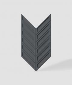 VT - PB50 (B15 czarny) JODEŁKA - Panel dekor 3D beton architektoniczny