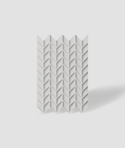VT - PB49 (B1 siwo biały) JODEŁKA - Panel dekor 3D beton architektoniczny