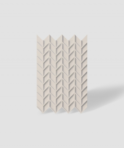 VT - PB49 (KS ivory) HERRINGBONE - 3D decorative panel architectural concrete
