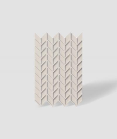 VT - PB49 (KS kość słoniowa) JODEŁKA - Panel dekor 3D beton architektoniczny