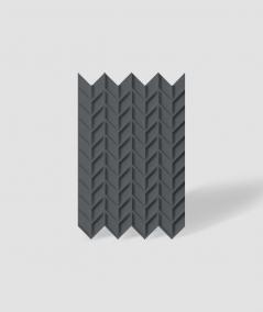 VT - PB49 (B15 black) HERRINGBONE - 3D decorative panel architectural concrete