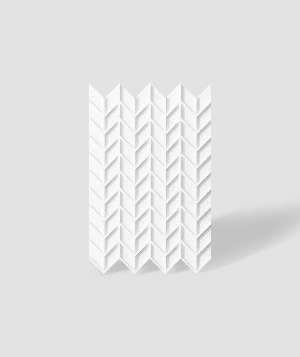 VT - PB49 (BS śnieżno biały) JODEŁKA - Panel dekor 3D beton architektoniczny