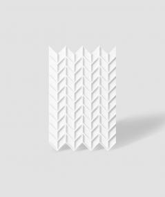 VT - PB49 (BS snow white) HERRINGBONE - 3D decorative panel architectural concrete