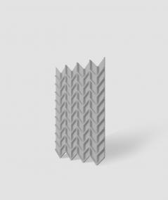 VT - PB49 (S51 ciemno szary - mysi) JODEŁKA - Panel dekor 3D beton architektoniczny