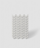 VT - PB48 (B0 biały) JODEŁKA - Panel dekor 3D beton architektoniczny