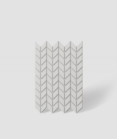 VT - PB48 (B0 white) HERRINGBONE - 3D decorative panel architectural concrete