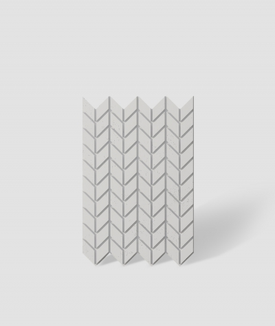 VT - PB48 (B1 siwo biały) JODEŁKA - Panel dekor 3D beton architektoniczny