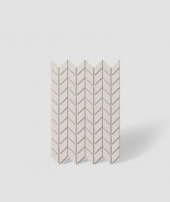 VT - PB48 (KS ivory) HERRINGBONE - 3D decorative panel architectural concrete