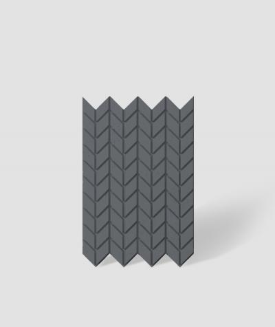 VT - PB48 (B8 antracyt) JODEŁKA - Panel dekor 3D beton architektoniczny
