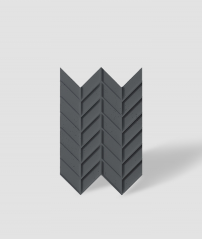 VT - PB47 (B15 black) HERRINGBONE - 3D decorative panel architectural concrete