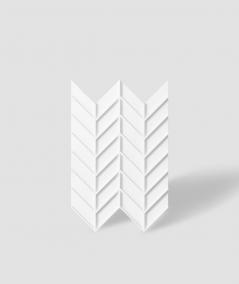 VT - PB47 (BS snow white) HERRINGBONE - 3D decorative panel architectural concrete