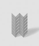 VT - PB47 (S51 ciemno szary - mysi) JODEŁKA - Panel dekor 3D beton architektoniczny