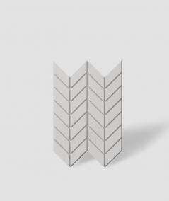 VT - PB46 (B1 gray white) HERRINGBONE - 3D decorative panel architectural concrete