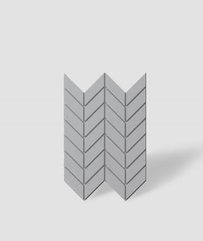VT - PB46 (S96 ciemny szary) JODEŁKA - Panel dekor 3D beton architektoniczny