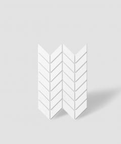 VT - PB46 (BS snow white) HERRINGBONE - 3D decorative panel architectural concrete