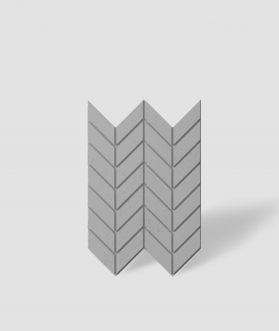 VT - PB46 (S51 ciemno szary - mysi) JODEŁKA - Panel dekor 3D beton architektoniczny