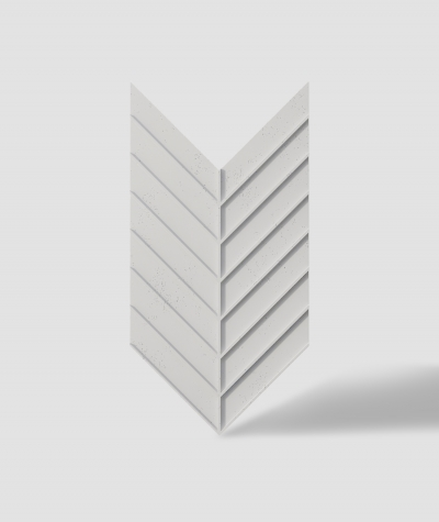 VT - PB45 (B0 biały) JODEŁKA - Panel dekor 3D beton architektoniczny
