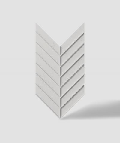 VT - PB45 (B0 white) HERRINGBONE - 3D decorative panel architectural concrete