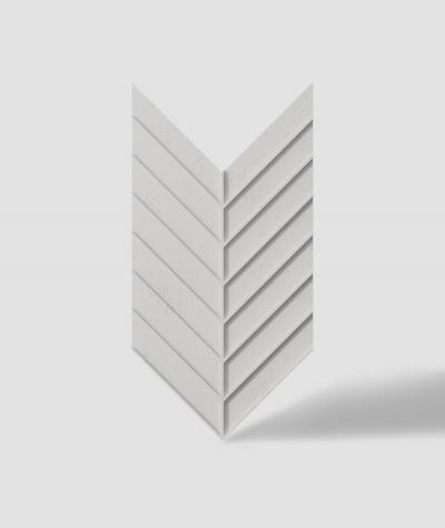 VT - PB45 (B1 siwo biały) JODEŁKA - Panel dekor 3D beton architektoniczny