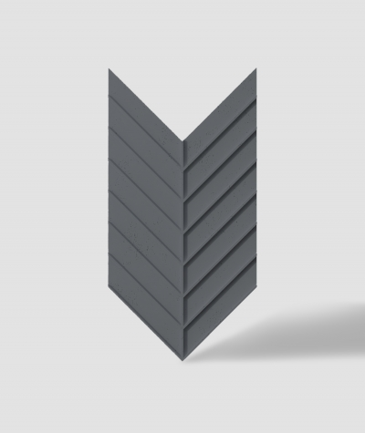 VT - PB45 (B8 anthracite) HERRINGBONE - 3D decorative panel architectural concrete